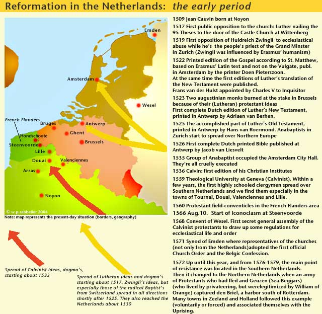 reformation in the netherlands: early period
